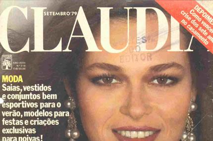 Capa da edição comemorativa de 18 anos da Revista Cláudia