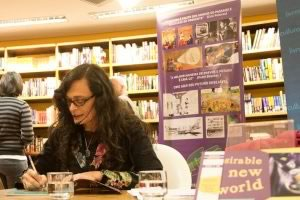 "Launch of the book Desirable New World. ""Livraria Cultura"", 2012."